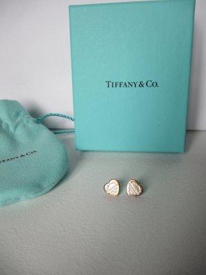 Tiffany&Co Srebrne kolczyki srebrny Metal