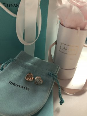 Tiffany&Co Ear stud silver-colored