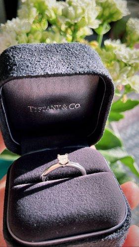 Tiffany&Co Anillo de la amistad color plata