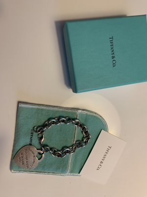 Tiffany&Co Brazalete de plata color plata
