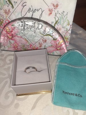 Tiffany&Co Silver Ring silver-colored