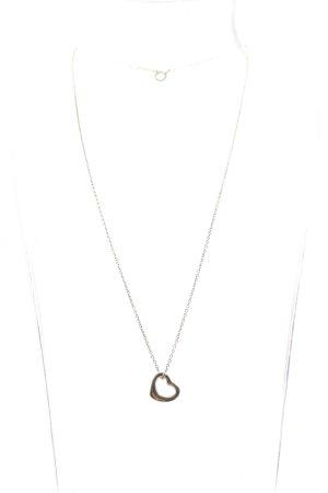 Tiffany&Co Silberkette silberfarben Casual-Look