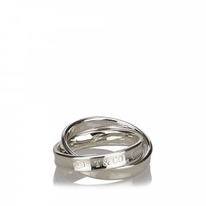 Tiffany Double Interlocking Circles Ring