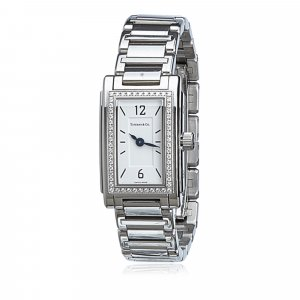 Tiffany Grand Resonator Diamond Ladies Watch