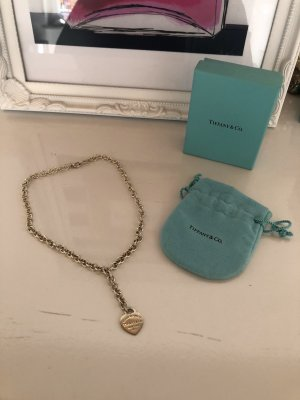 Tiffany&Co Cadena de plata color plata