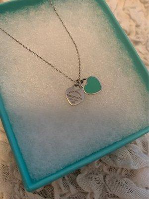 Tiffany&Co Naszyjnik turkusowy-srebrny