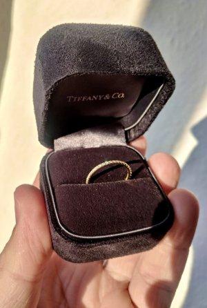 Tiffany&Co Złoty pierścionek w kolorze różowego złota