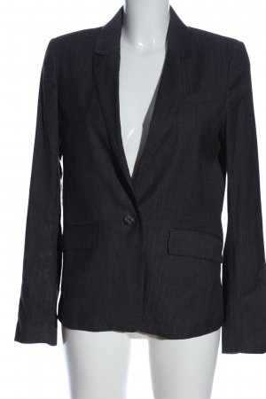 Tiger of sweden Boyfriend-Blazer blau Streifenmuster Business-Look