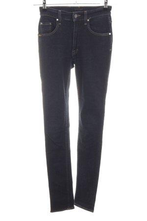 Tiger of sweden Hoge taille jeans zwart casual uitstraling