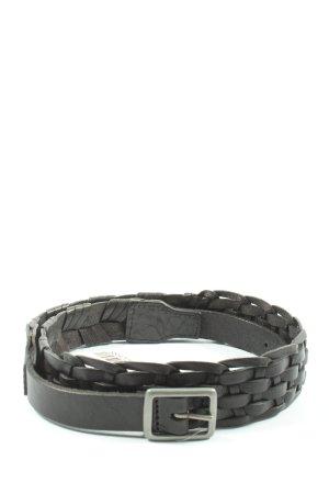 Tiger of sweden Leather Belt black casual look