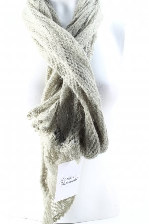 Tiger of sweden Scarf sage green loosely knitted pattern classic style