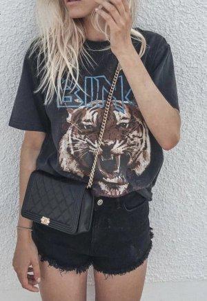 Anine Bing T-shirt gris foncé