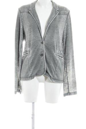 Tigerhill Jerseyblazer grau-hellgrau Street-Fashion-Look