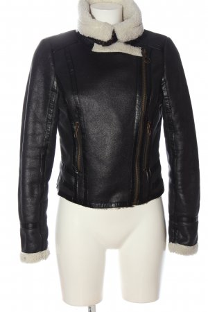 Tigerhill Fake Fur Jacket black casual look