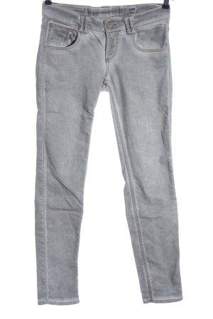 Tigerhill Skinny Jeans light grey casual look