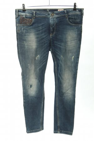 Tigerhill Slim Jeans blau Casual-Look
