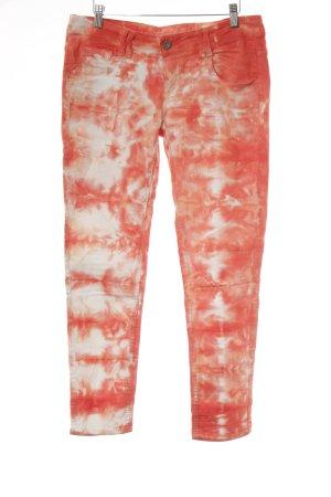 Tigerhill Slim Jeans Batikmuster Casual-Look