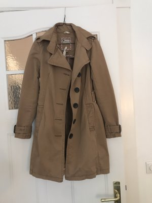 Tigerhill Between-Seasons Jacket camel cotton