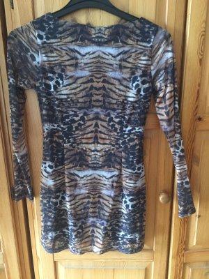 BC Collection Stretch jurk veelkleurig