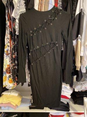 Tiger Mist. Cut out jurk zwart