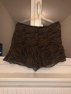 Pull & Bear Spódnico-spodnie brązowy-czarny