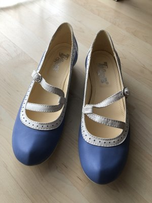Tiggers Tacones de tiras azul celeste-blanco