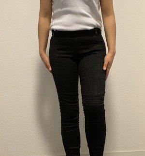 Tigha Biker jeans zwart