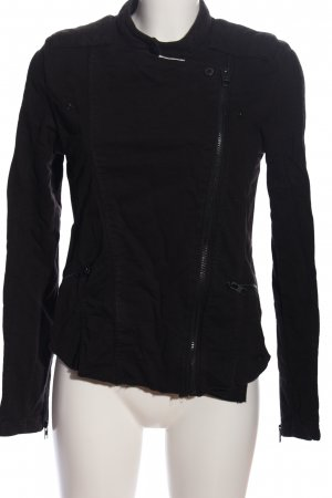 Tigha Bikerjacke schwarz Casual-Look