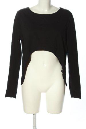 Tigha Cropped shirt zwart casual uitstraling