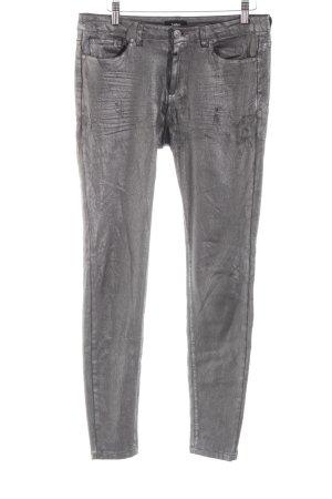 Tigha Pantalone cinque tasche grigio chiaro stile casual