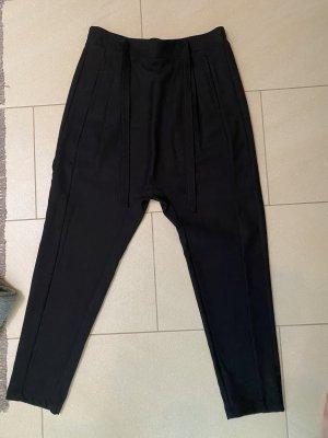 Tigha Pantalone largo nero Tessuto misto