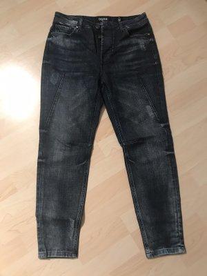 Tigha Jeans boyfriend blu scuro
