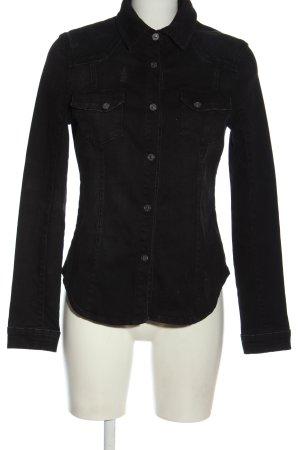 Tigha Denim Jacket black casual look