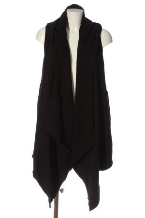 Tigha Chaleco con capucha negro look casual