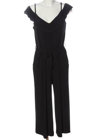 Tigha Langer Jumpsuit schwarz Casual-Look