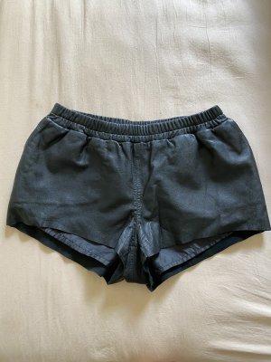 tigha leder shorts