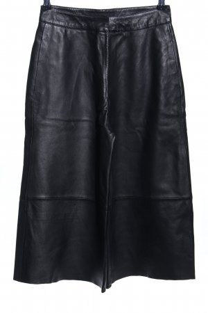 Tigha Lederhose schwarz Casual-Look