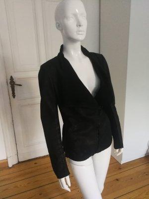 Tigha Leather Jacket black