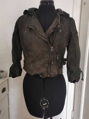 Tigha Leather Jacket multicolored