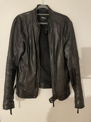Tigha Leather Jacket multicolored leather