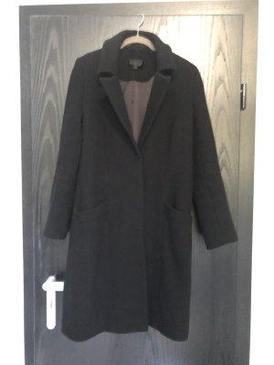 Tigha Cappotto in lana nero