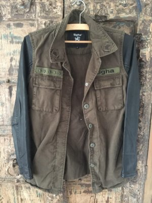 Tigha Military Jacket black-khaki