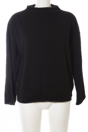 Tigha Oversized Pullover schwarz Casual-Look