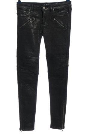 Tigha Röhrenhose schwarz Casual-Look