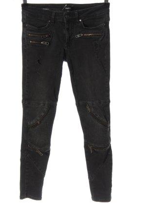 Tigha Jeans a sigaretta grigio chiaro stile casual