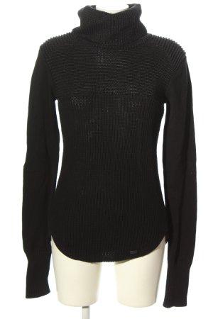 Tigha Turtleneck Sweater black casual look