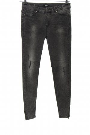 Tigha Skinny Jeans schwarz Casual-Look