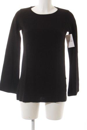 Tigha Strickpullover schwarz klassischer Stil