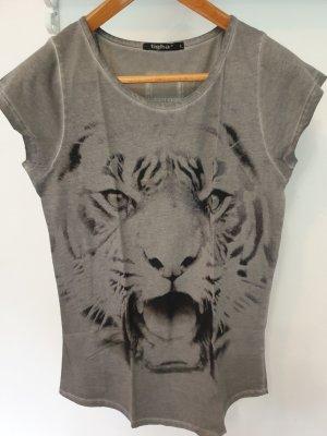 Tigha T-Shirt grey cotton