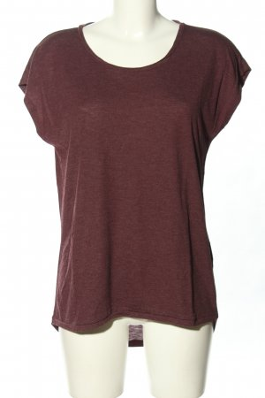 Tigha T-Shirt braun meliert Casual-Look
